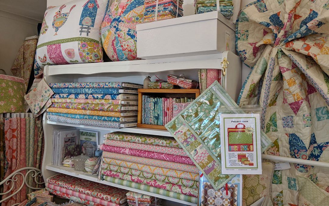 Launceston patchwork and quilting fabrics in store