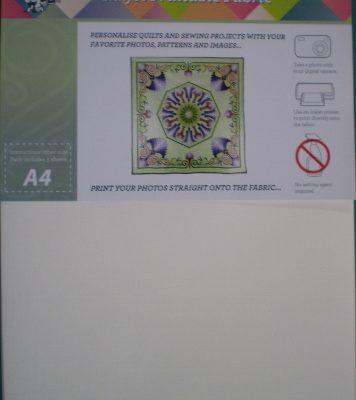 InkJet Printable Fabric